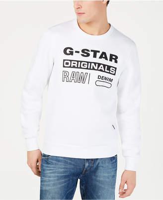 G Star Mens Graphic Logo Sweatshirt