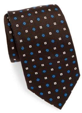 Brioni Two Pattern Silk Tie