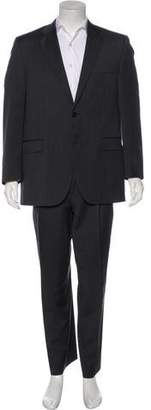 Burberry Wool Striped Suit