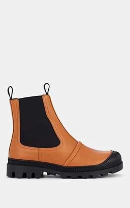 Loewe Women's Leather Chelsea Boots - Beige, Tan