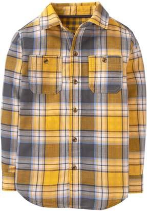 Crazy 8 Crazy8 Plaid Double Weave Shirt
