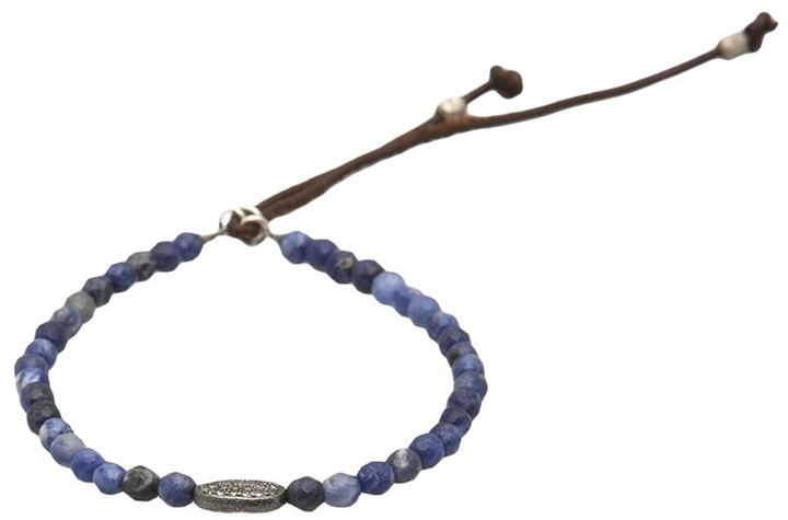 Catherine Michiels Sodalite bracelet