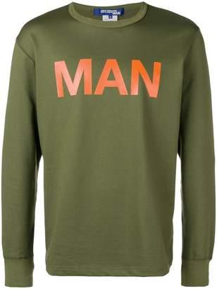 Junya Watanabe 'Man' printed sweatshirt