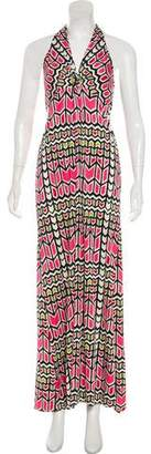 Tory Burch Halter Maxi Dress
