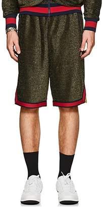 Fila Men's Logo Sparkly Shorts - Gold Size M