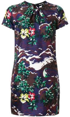 DSQUARED2 short printed dress
