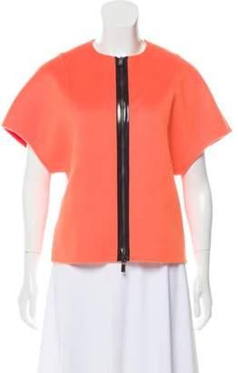 Michael Kors Virgin Wool Short Sleeve Jacket w/ Tags