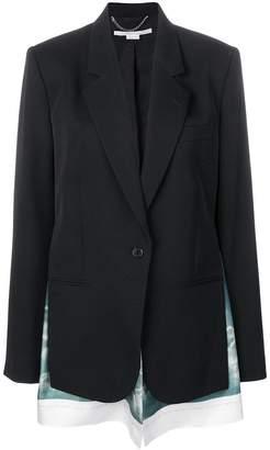 Stella McCartney scarf-insert blazer
