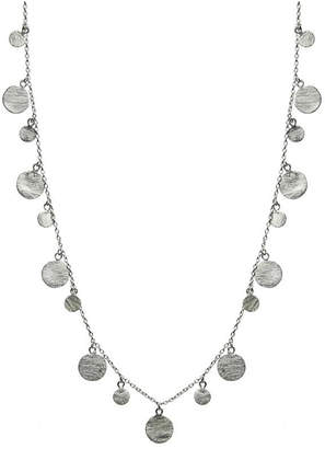 Sikara & Co. Art Deco Necklace with Brushed Discs