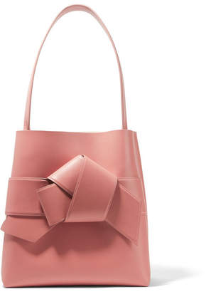 Acne Studios Musubi Knotted Leather Tote - Antique rose
