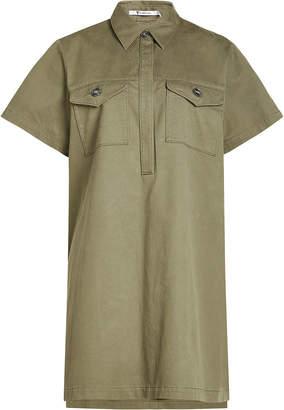 Alexander Wang Shirt Dress with Cotton