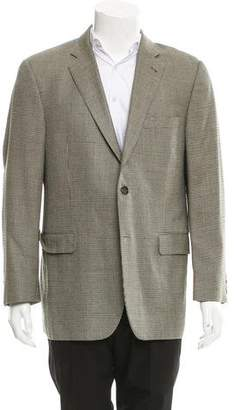 Burberry Silk & Wool-Blend Blazer