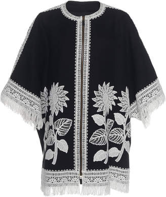 Andrew Gn Embroidered Linen Coat