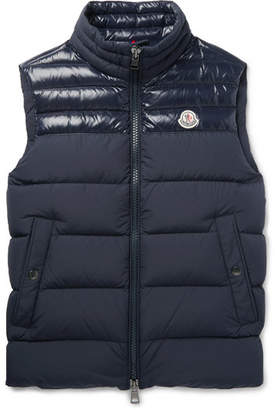 Moncler Slim-Fit Quilted Shell Down Gilet