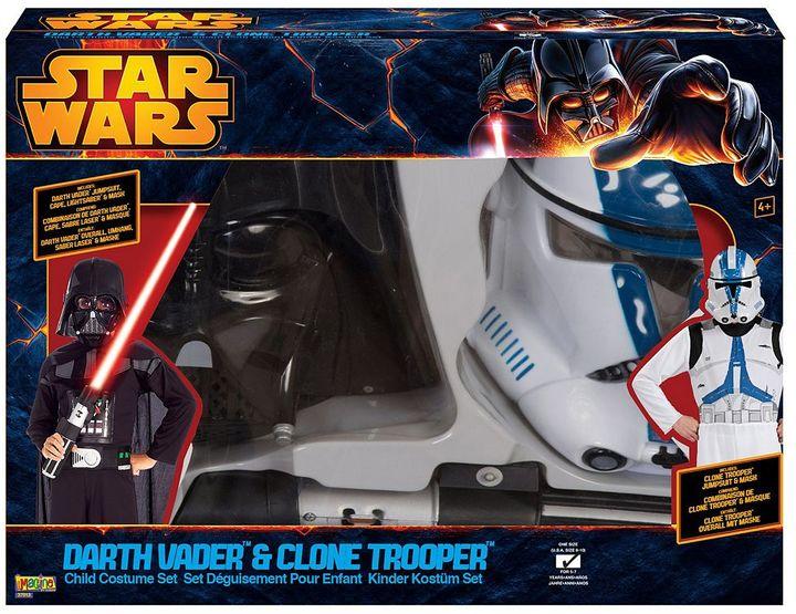 Star Wars Darth Vader & Clone Trooper Dress Up Set - Kids
