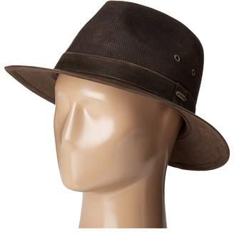 Stetson Weathered Leather Safari Traditional Hats