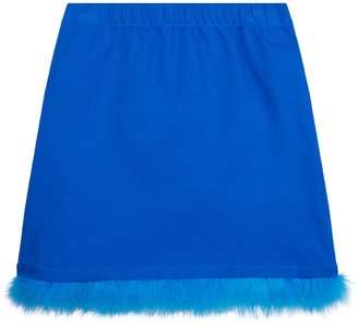Vivetta Feather Trim Skirt