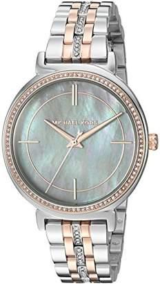 Michael Kors Women's Cinthia Silver- Tone Watch MK3642