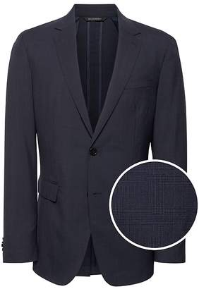 Banana Republic Slim Smart-Weight Performance Suit Jacket