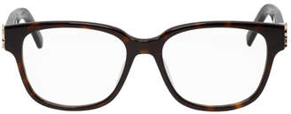 Saint Laurent Tortoiseshell SL M33 Glasses