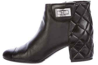 Chanel Mademoiselle Ankle Boots
