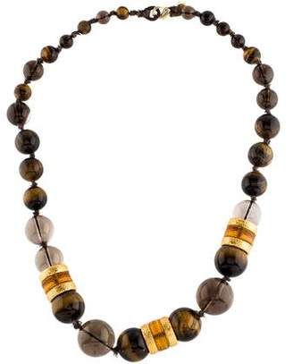 Alexis Bittar Multistone Bead Necklace