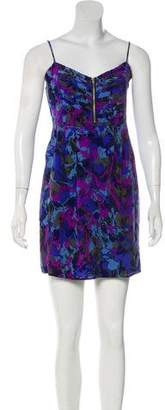 Yumi Kim Silk Printed Mini Dress