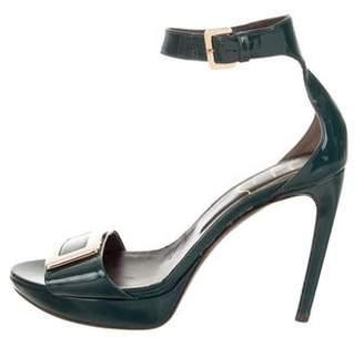 Roger Vivier Buckle Platform Sandals