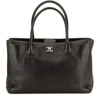Chanel Black Caviar Leather Executive Cerf Tote Bag (3901005)