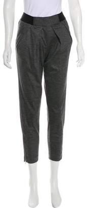 Yigal Azrouel Mid-Rise Straight-Leg Pants