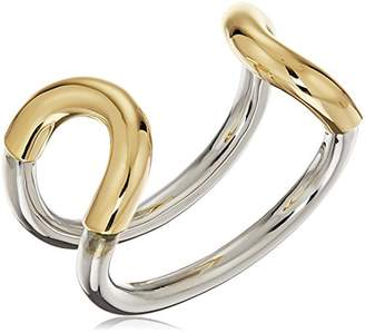 "Giles and Brother ""Cortina"" Original Two Tone Cuff Bracelet $295 thestylecure.com"