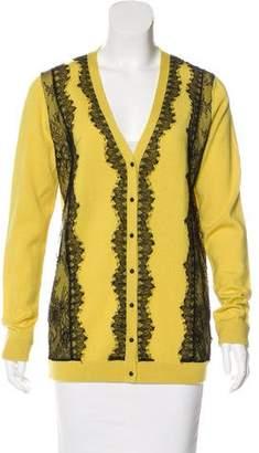 Marchesa Voyage Wool Knit Cardigan