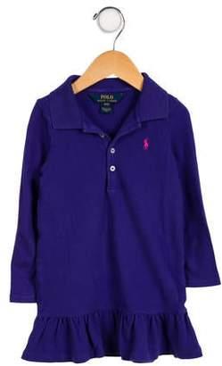 Polo Ralph Lauren Girls' Knit Long Sleeve Dress