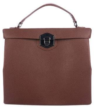 Philosophy di Alberta Ferretti Leather Box Satchel