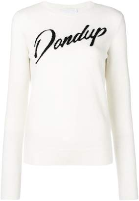 Dondup logo crew neck sweater