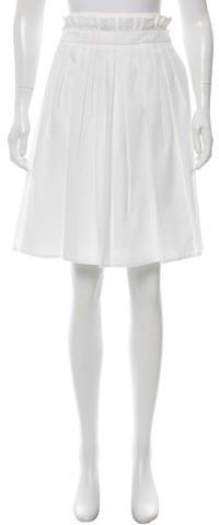 Michael Kors Pleated Knee-Length Skirt w/ Tags
