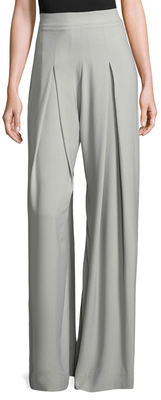 Cian High Rise Wide Leg Trousers $190 thestylecure.com