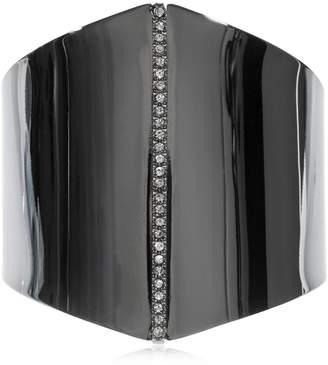 Polygon Bracelet W/ Crystals