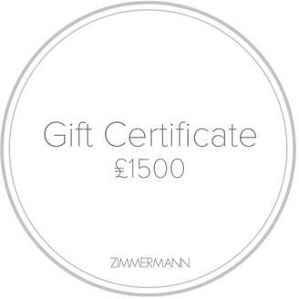 Zimmermann Gift Certificate 1500