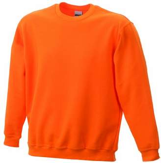 James & Nicholson Boy's Sweatshirt Round Sweat Heavy Junior Sweatshirt,(Manufacturer size: XL (146/152)