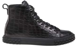 Giuseppe Zanotti Sneakers Blabber In Black Leather