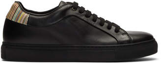 Paul Smith Black Multistripe Basso Sneakers