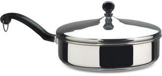Farberware Classic Series Stainless Steel 2.75-Qt. Saute Pan & Lid