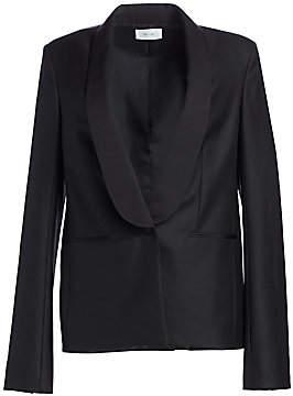 The Row Women's Odice Escorial Wool Shawl Collar Jacket