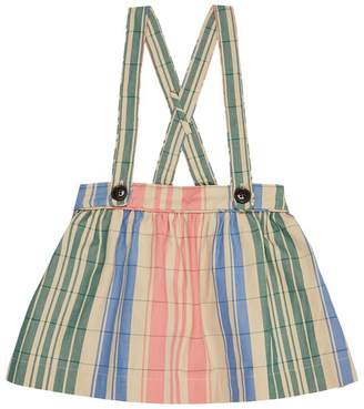 Burberry Gathered Pinafore Skirt