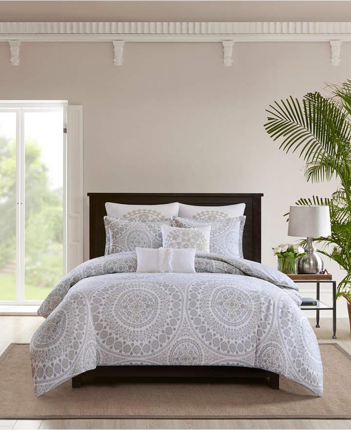 Marco Cotton 3-Pc. King Comforter Set Bedding