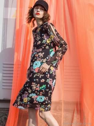 Aula (アウラ) - アウラ BIG FLOWER DRESS