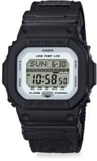 G-Shock Shock& Water Resistant Cloth Strap Watch