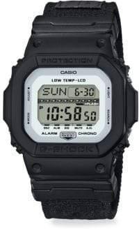G-Shock Shock& Water Resistant Cloth Strap Watch