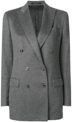Tagliatore cashmere double breasted blazer